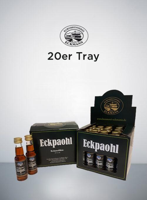Eckpaohl 20er kleine Flaschen